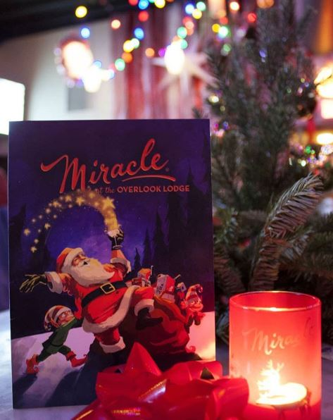 Miracle Pop-Up, The Overlook Lodge