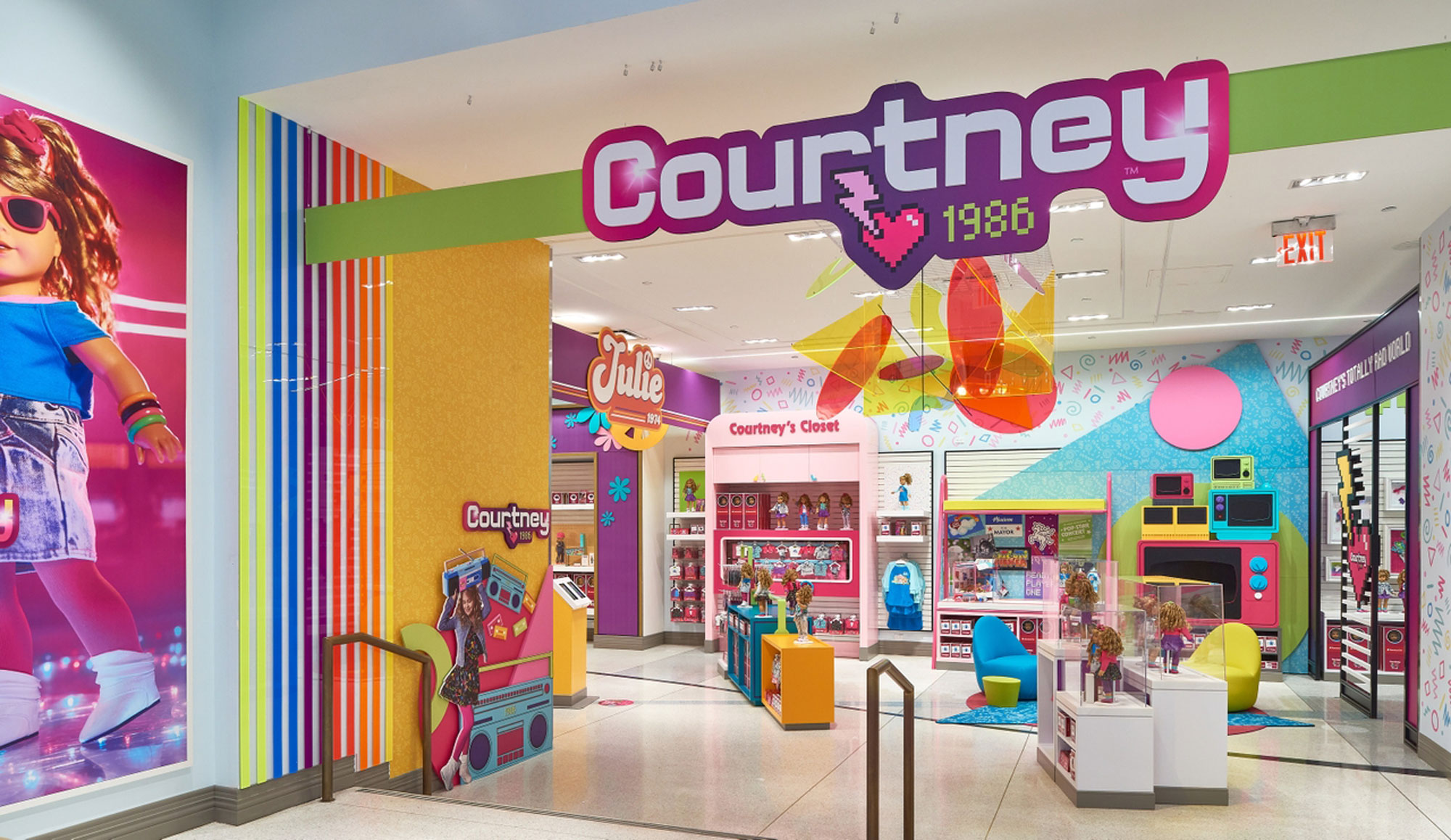 VMSD Magazine: American Girl 'Courtney Pop-Up' Honorable Mention