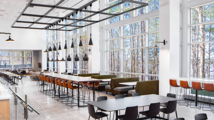 Why Food Is On The Menu For New Office Design