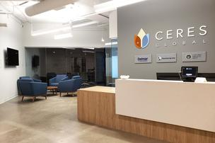 Cool Offices: Ceres Global Ag makes short move to new office