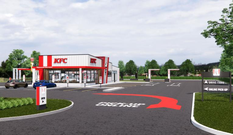 Check Out KFC's Next-Generation Restaurant