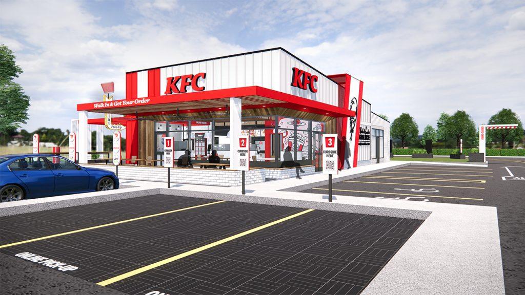 KFC new store rendering