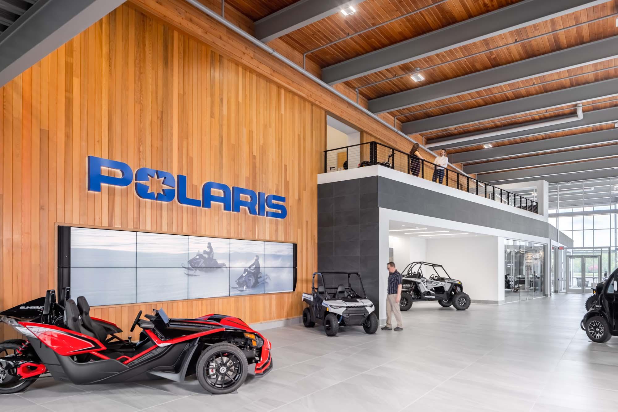 Office Snapshots: Polaris Headquarters – Medina